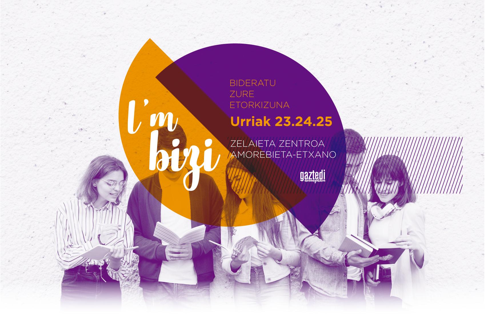 Vuelve el evento I'm Bizi Gaztedi Durangaldea